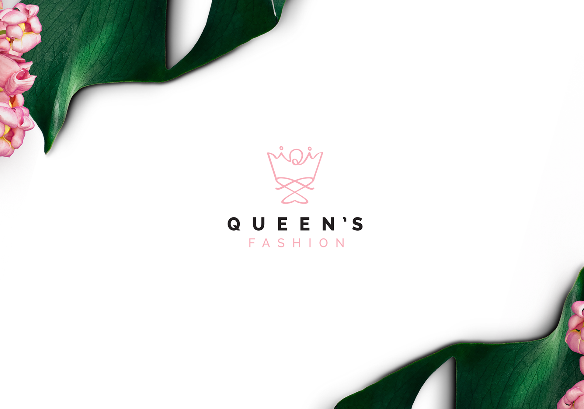 Queen's Fashion Logo Design